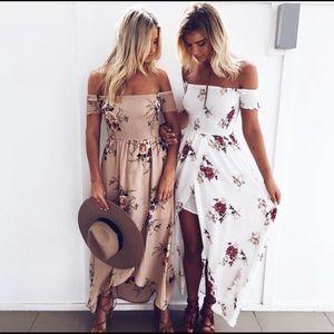 Women's summer feinting dress